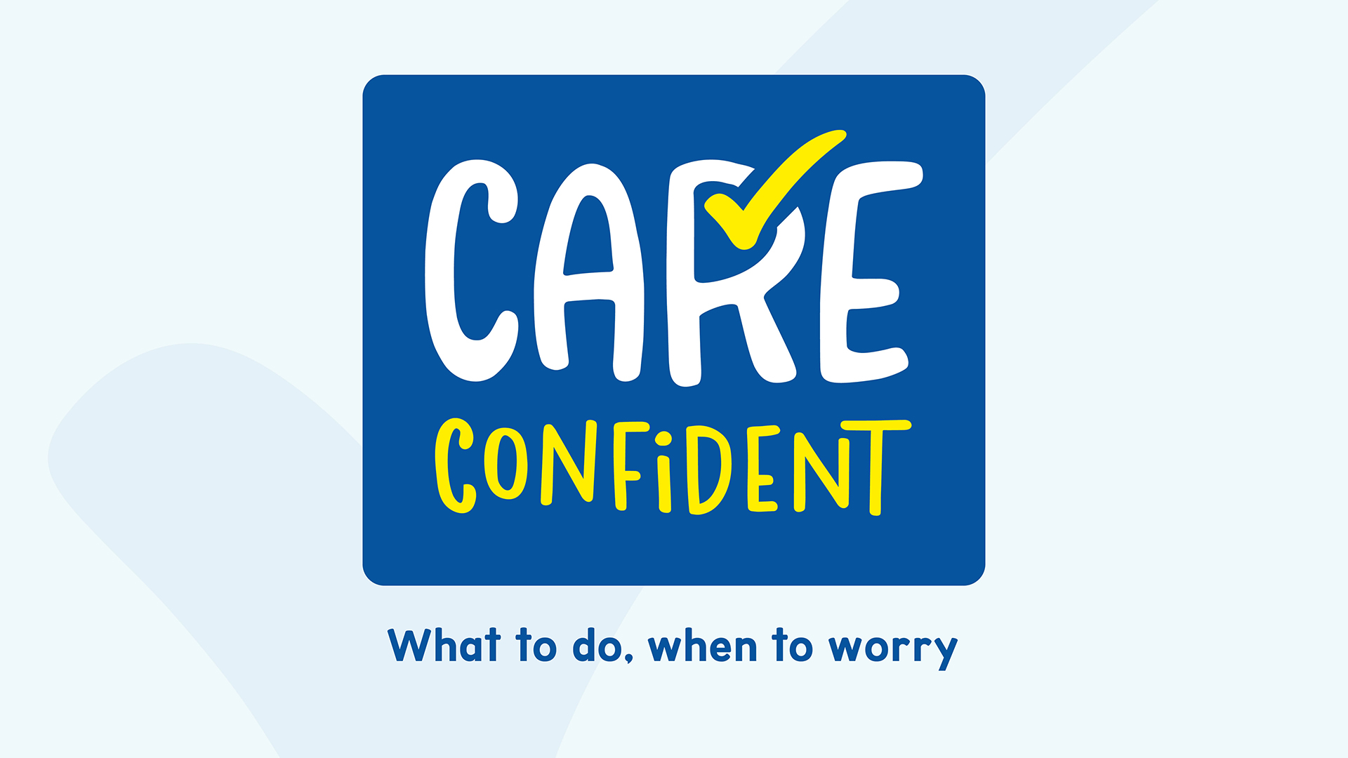 Care Confident Logo