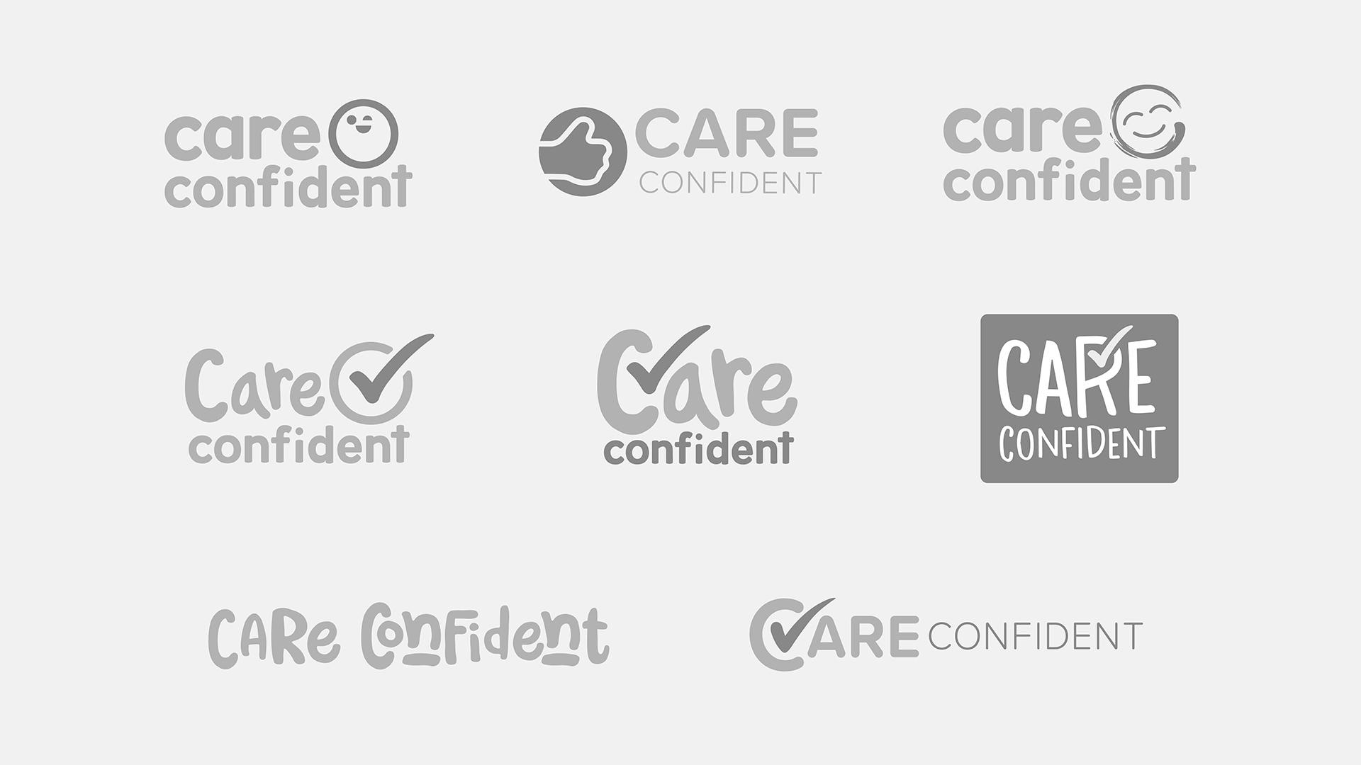 Care Confident Logos