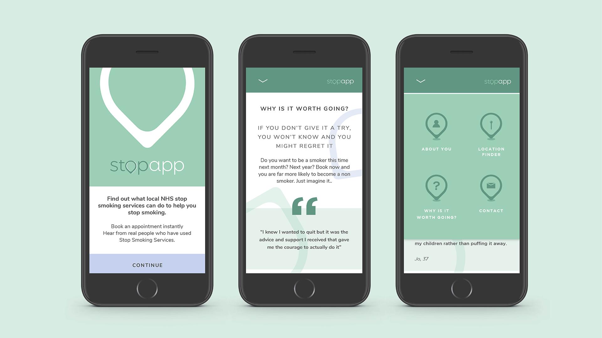 Stopapp App