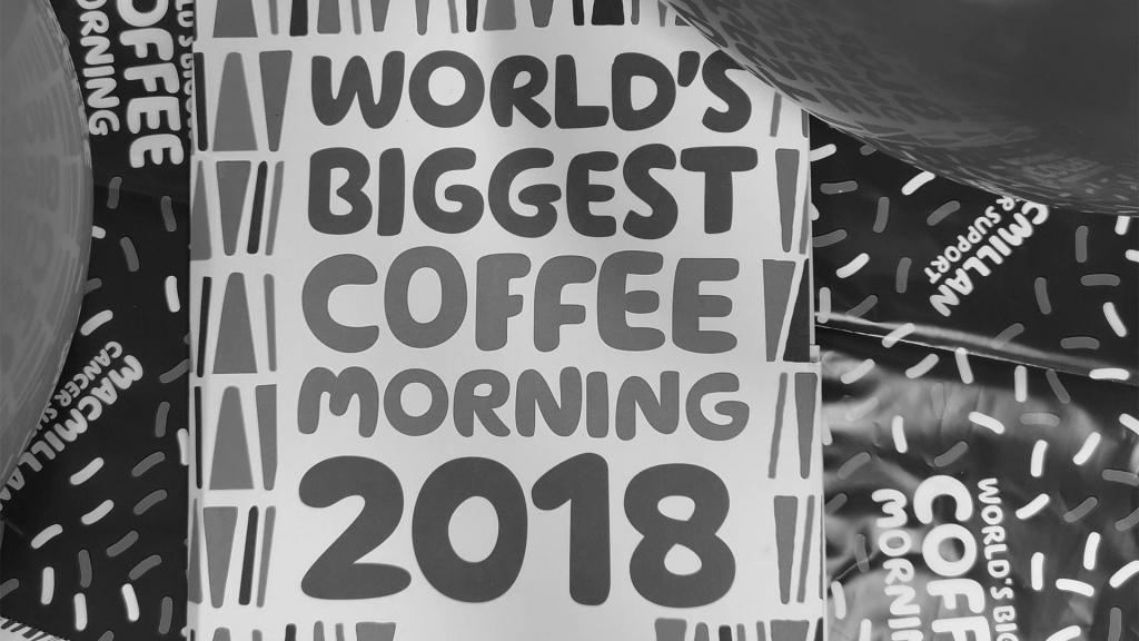 Coffee Morning Macmillan 2018