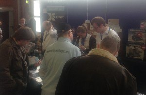 The Aerosoft stand was busy for most of the day.