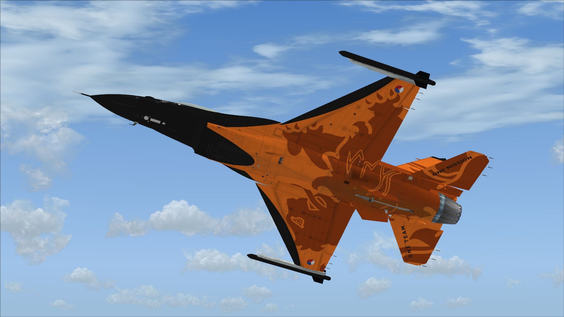 FSX Insider | Aerosoft F-16 Fighting Falcon Updated With RNLAF Liveries