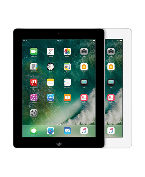 ipad 4 in black and in white