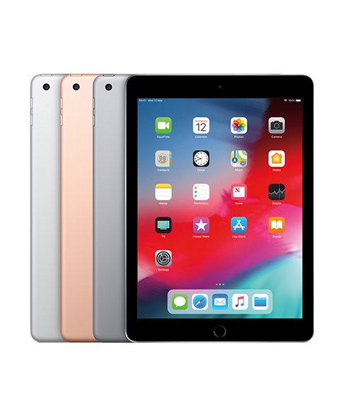 the ipad 6 in different colours