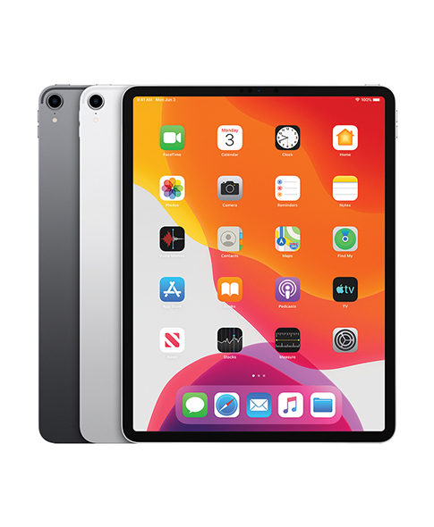 ipad pro in 3 different colours
