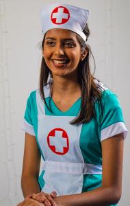 Aditi Mohan as Nurse Anna