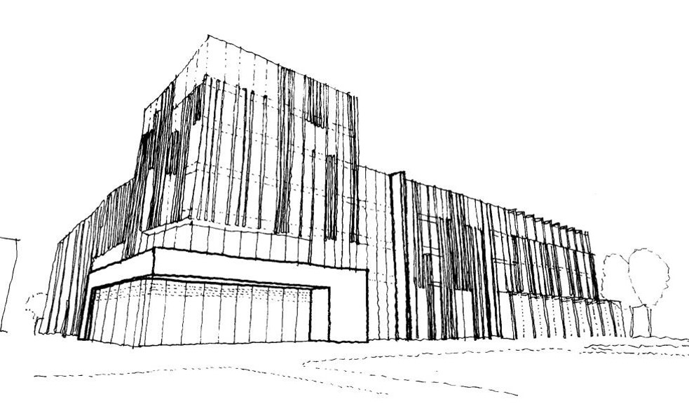 University of Birmingham Library Concept Sketch