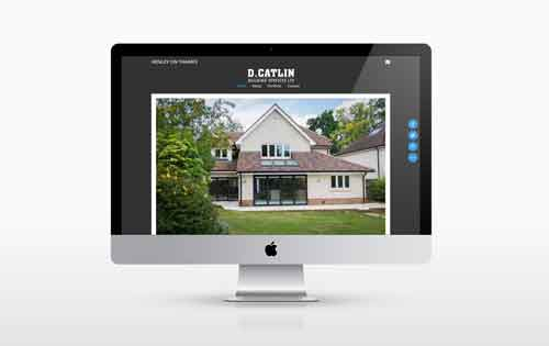 New Website for Dan Catlin Building Services