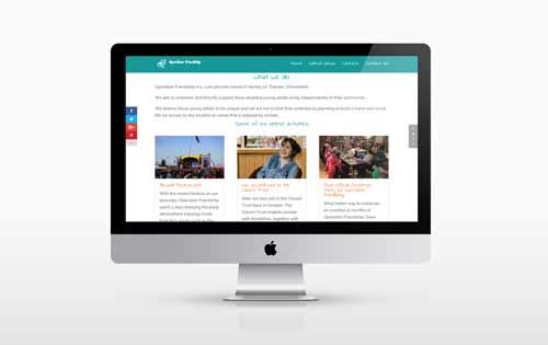 Operation Friendship New Website