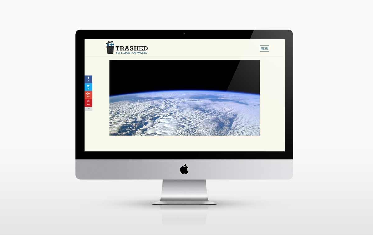Trashed Film Official Website