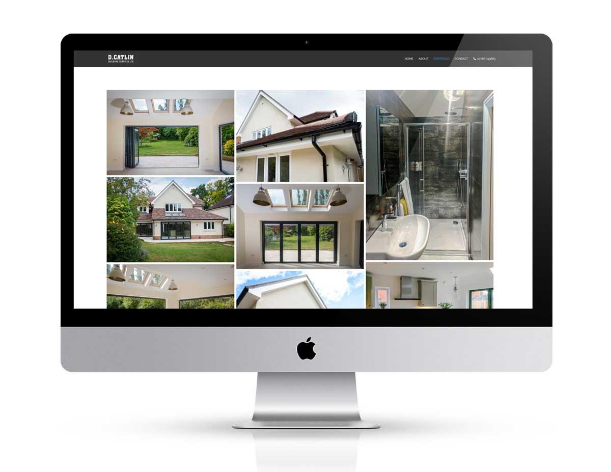 New web design for dcatlin building
