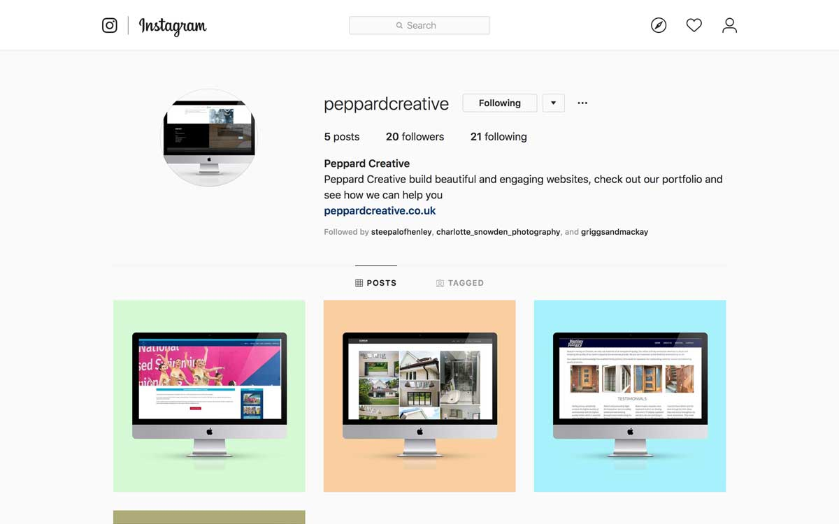 Our New Instagram Feed