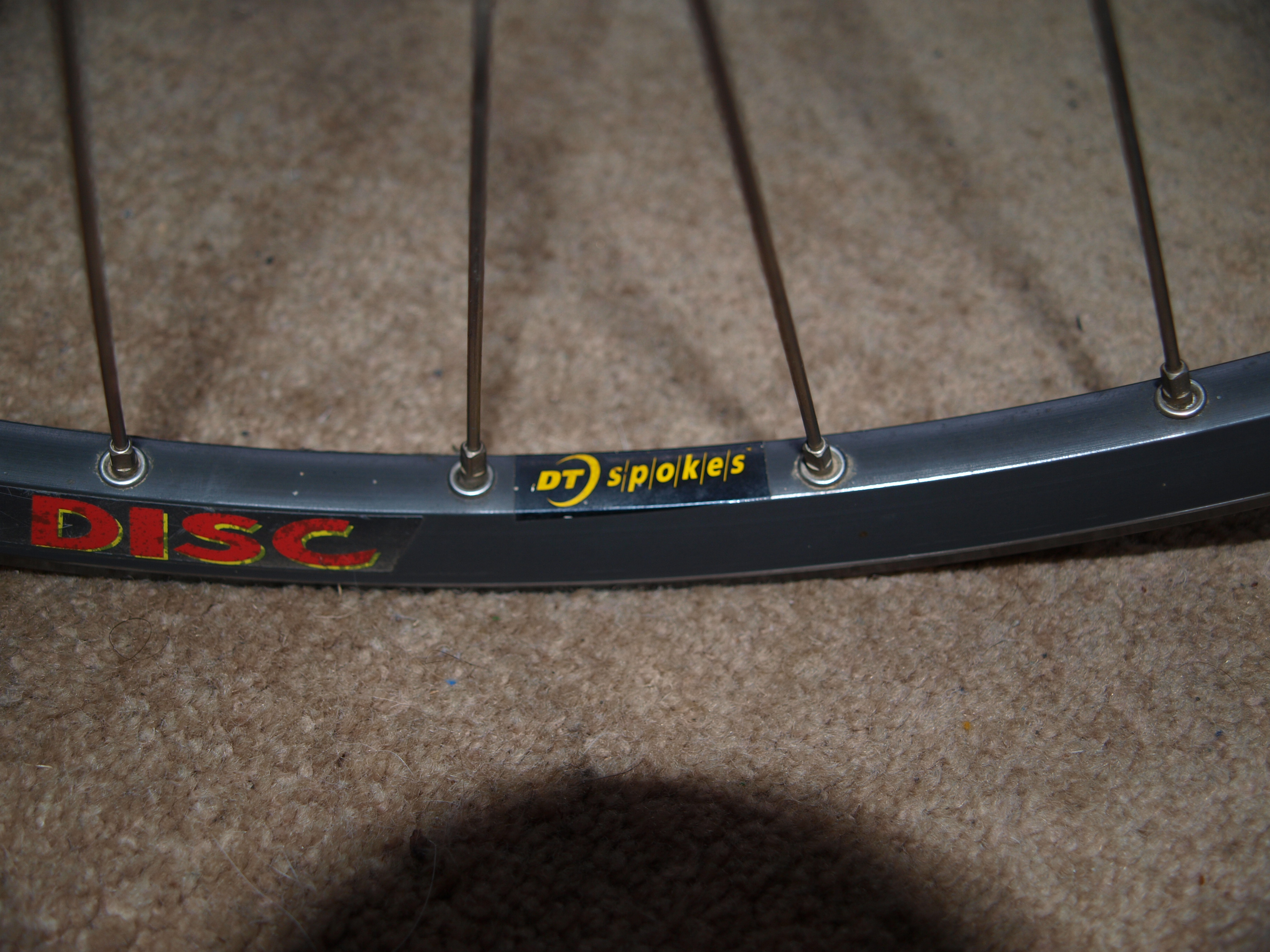 Front 26 Quot Wheel Hope 5 Bolt Mavic 317 Disc Dead Rats