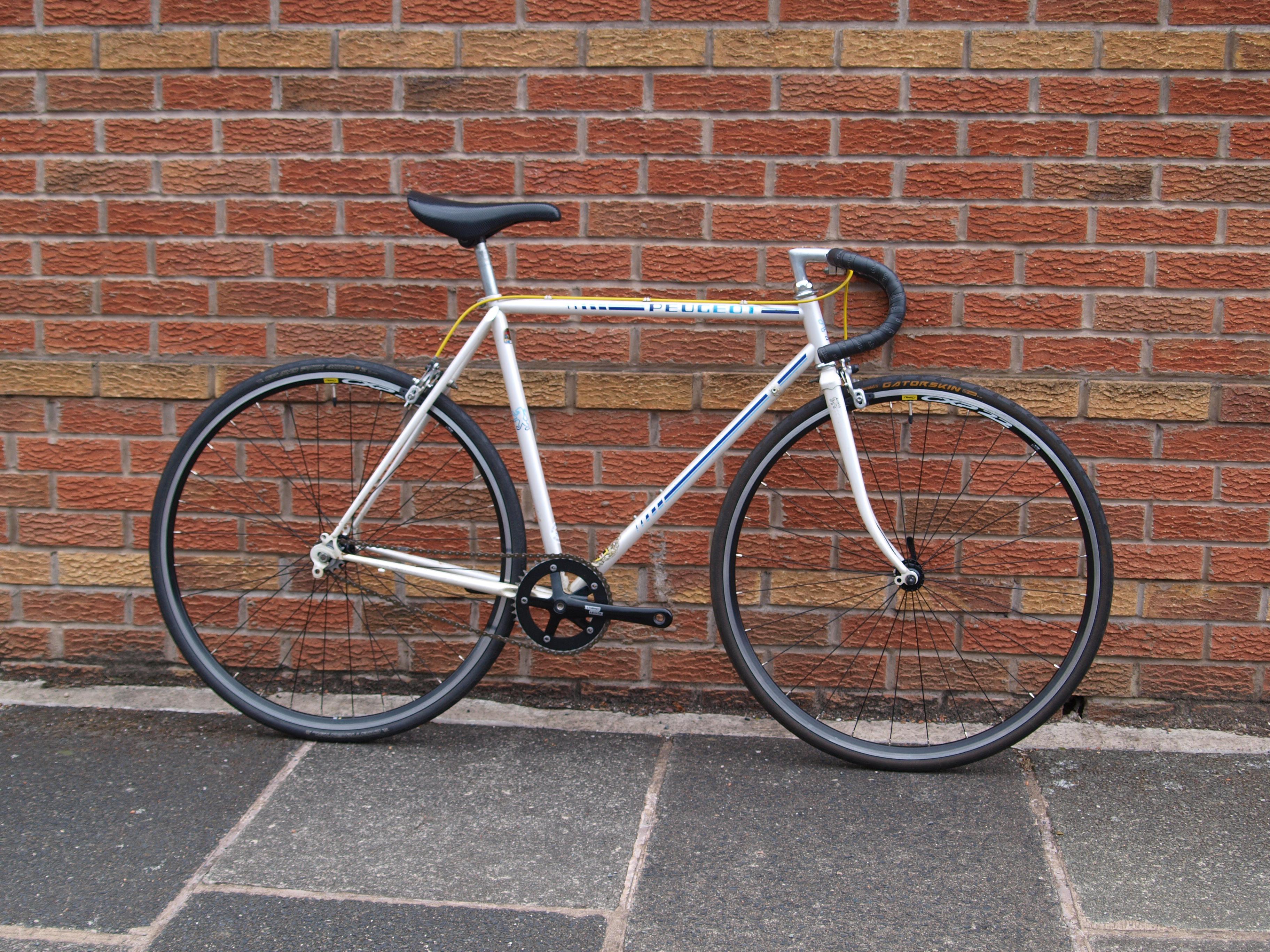 Sold Peugeot Ph10 Custom Vintage Singlespeed 54cm Dead Rats Cycles