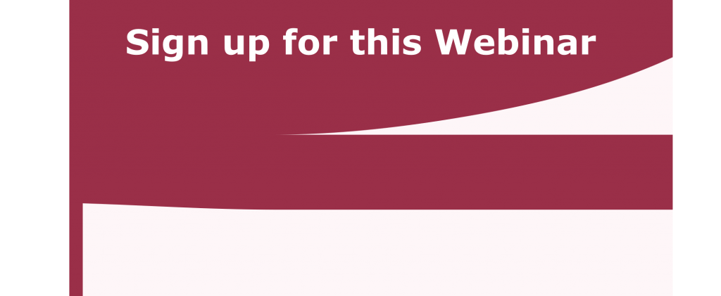 Sign up for webinar button