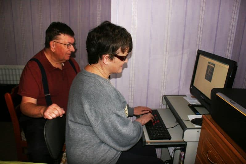support with computers