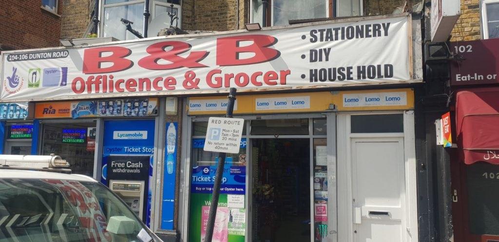B&B Newsagent | Bermondsey | Southwark