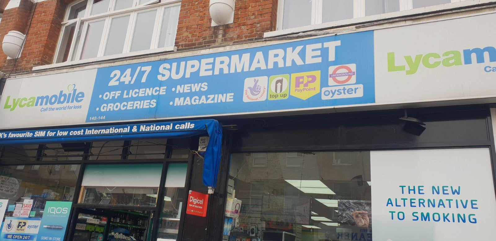 24/7 Supermarket | Hammersmith | Hammersmith & Fulham