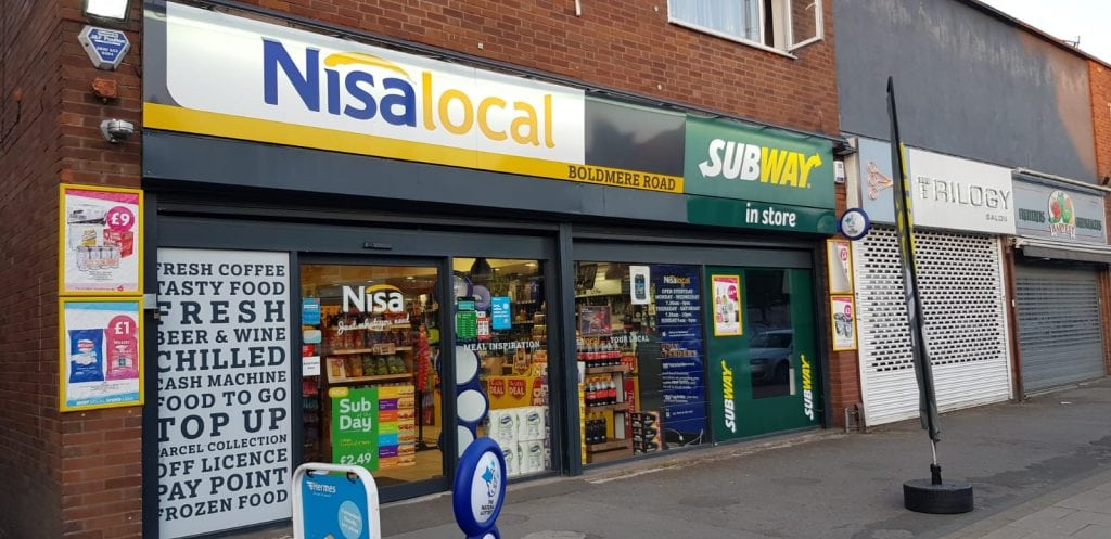 Nisa Local & Subway | Boldmere | Sutton Coldfield