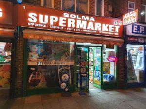 Solma Supermarket | Edmonton | Enfield