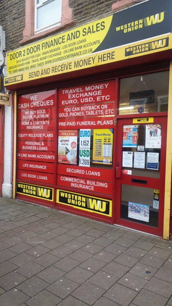 Door 2 Door Finance | Splott | Cardiff