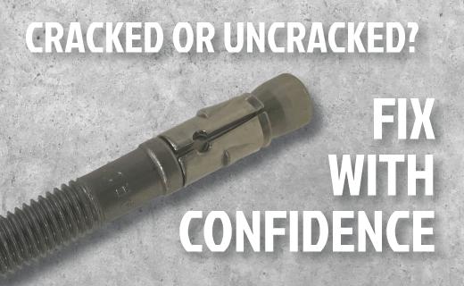 Cracked Concrete Fixings