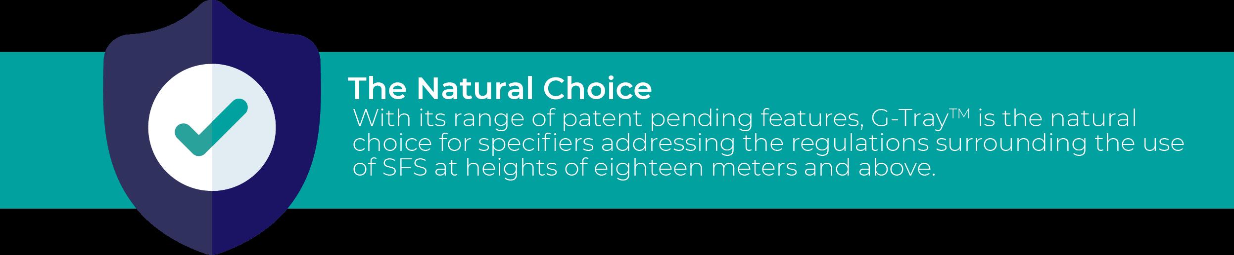 G-Tray the natural choice