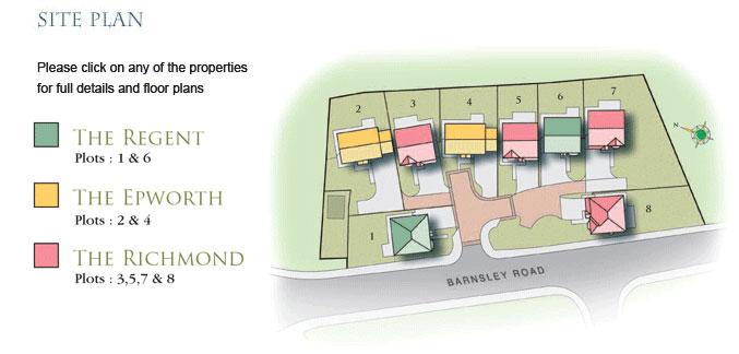 Moorlands Site Plan