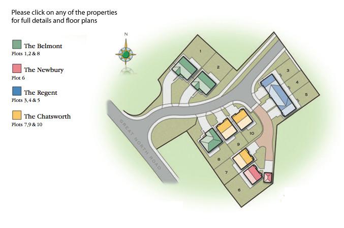 Grange Farm Site Plan