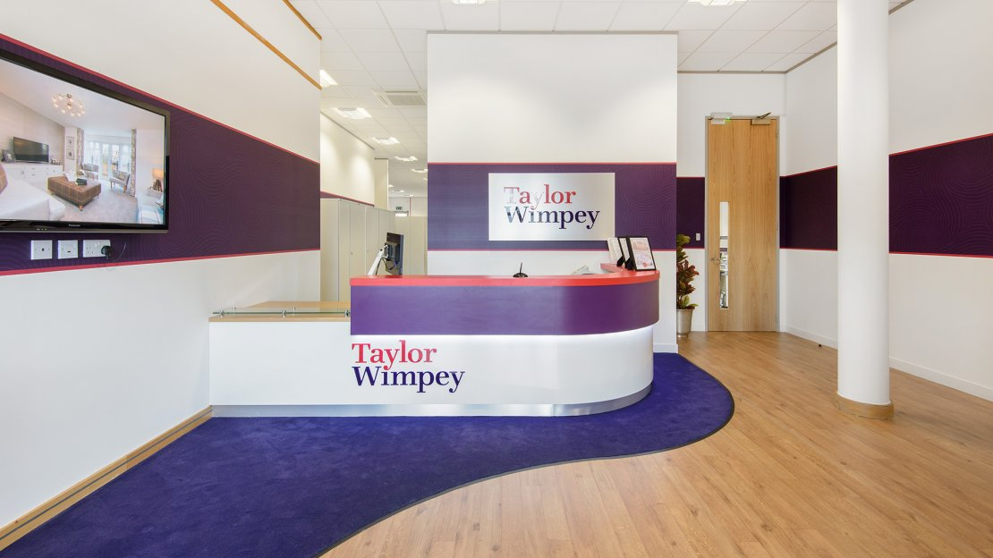 Taylor Wimpey reception