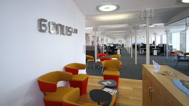 Genus Law office designed by Ben Johnson Interiors