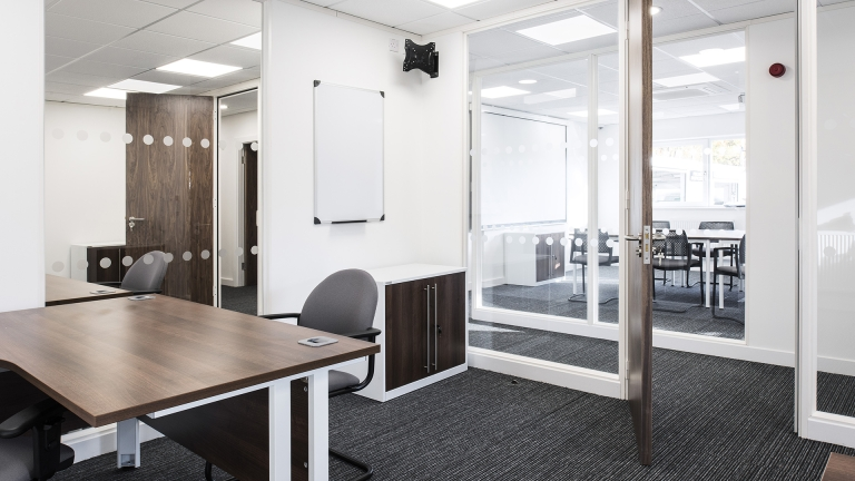 Refurbished taxi office
