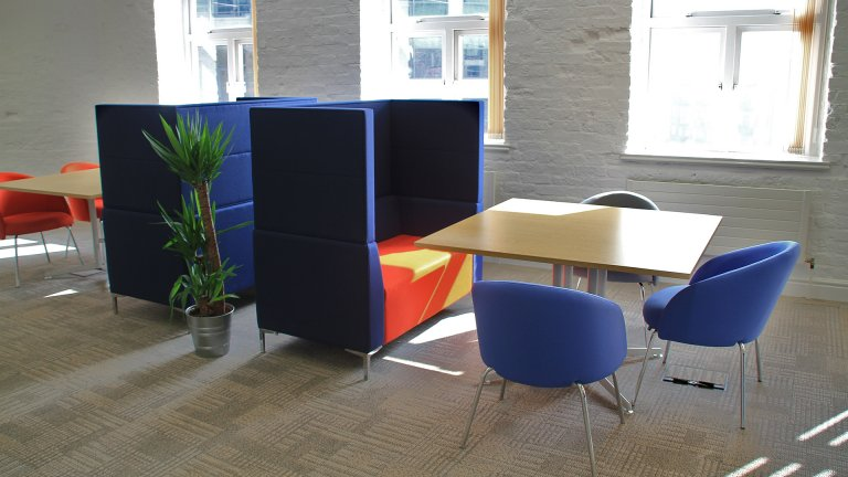 office acoustic pod seating