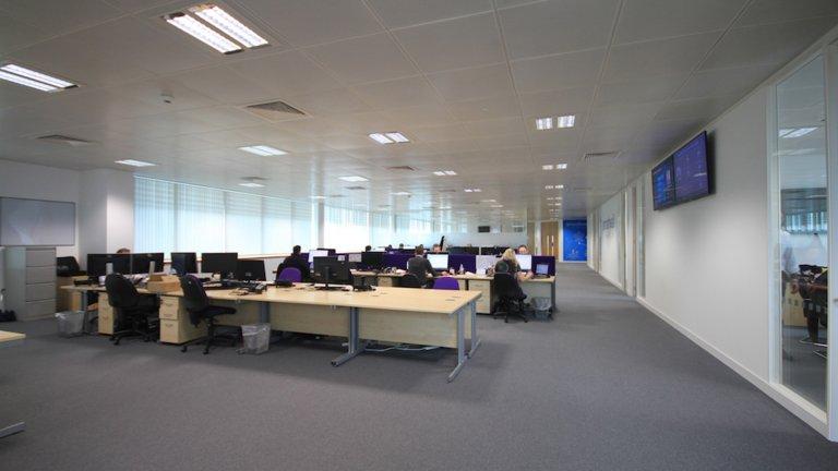 open plan office Leeds