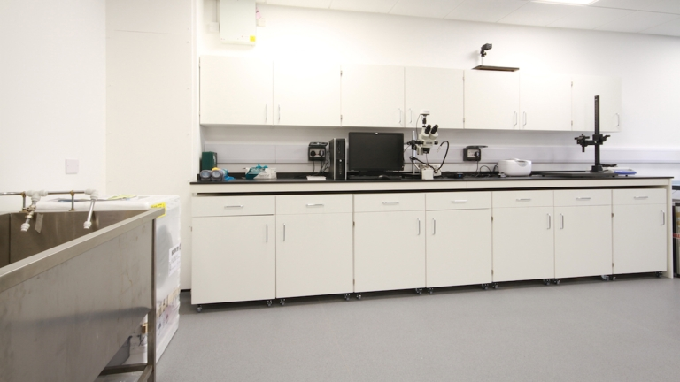 Laboratory fitted by Ben Johnson Interiors