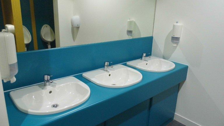 Office toilets