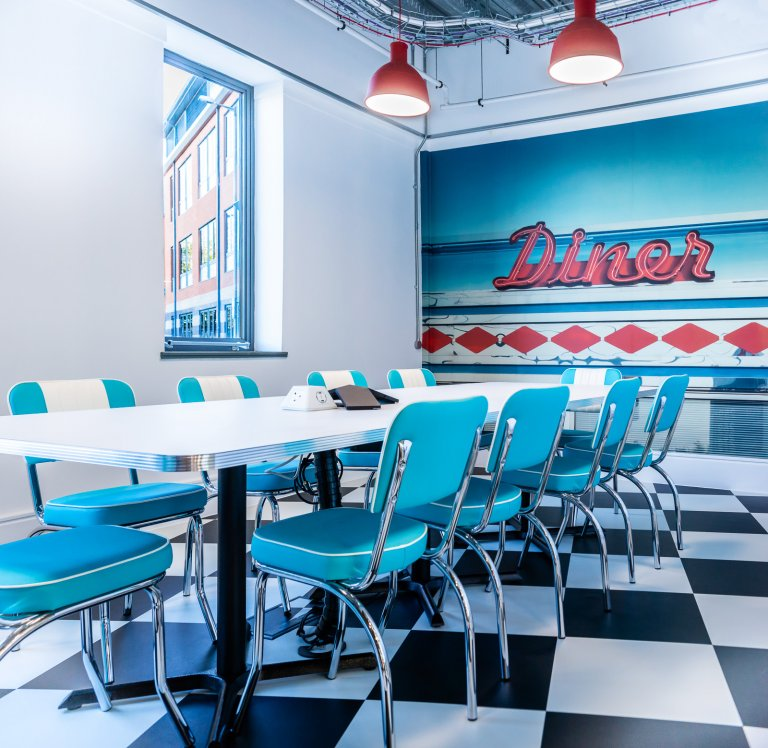 Mayborn (credit Sue Todd Photography) American style diner