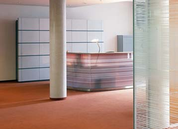Modular office partitions - Building Interiors Leeds