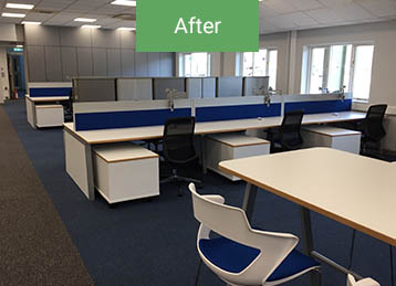 After office refurbishment