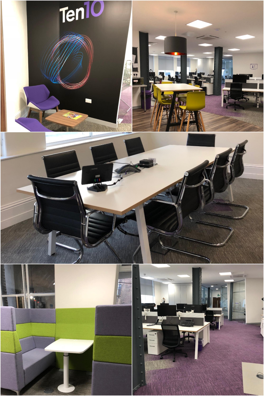 Ten10 Office interior