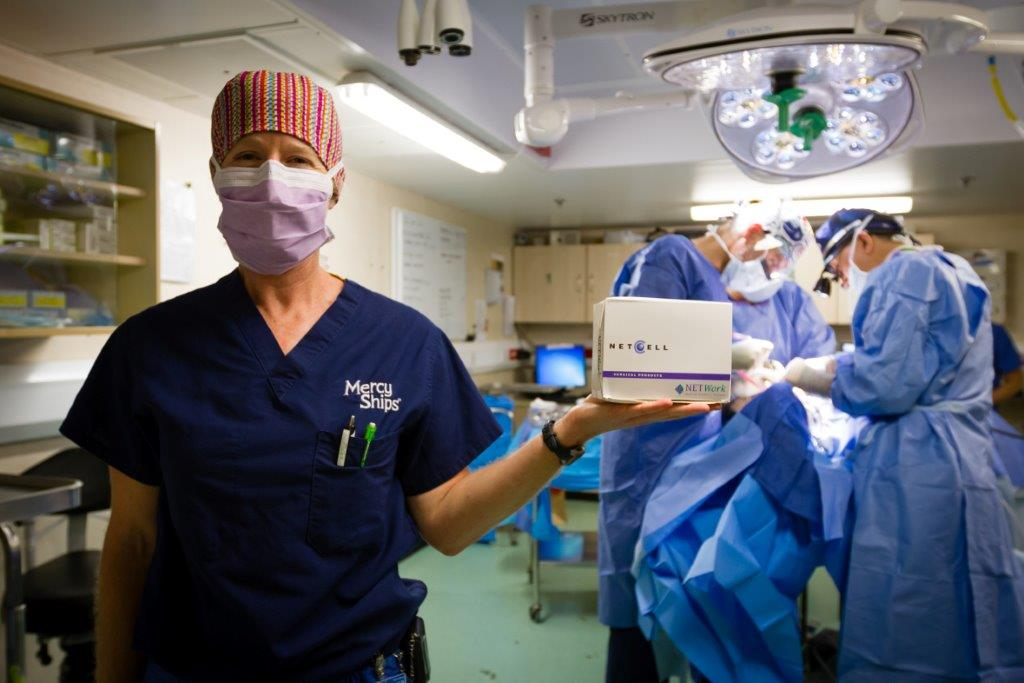 NETCELL Mercy Ships PR Image