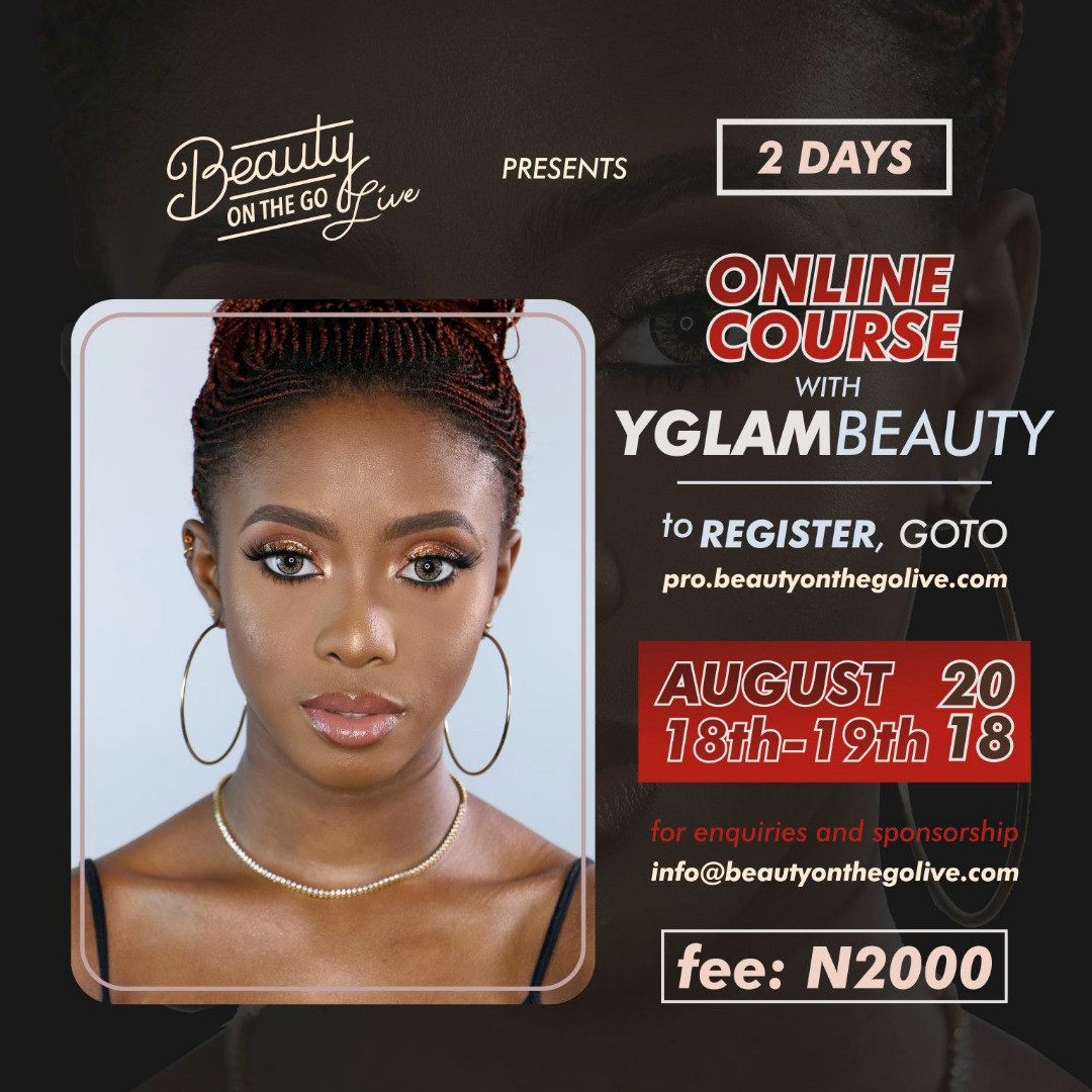 Masterclass with YGLAM Beauty