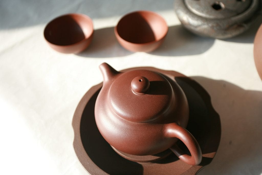 chocolate tea pot