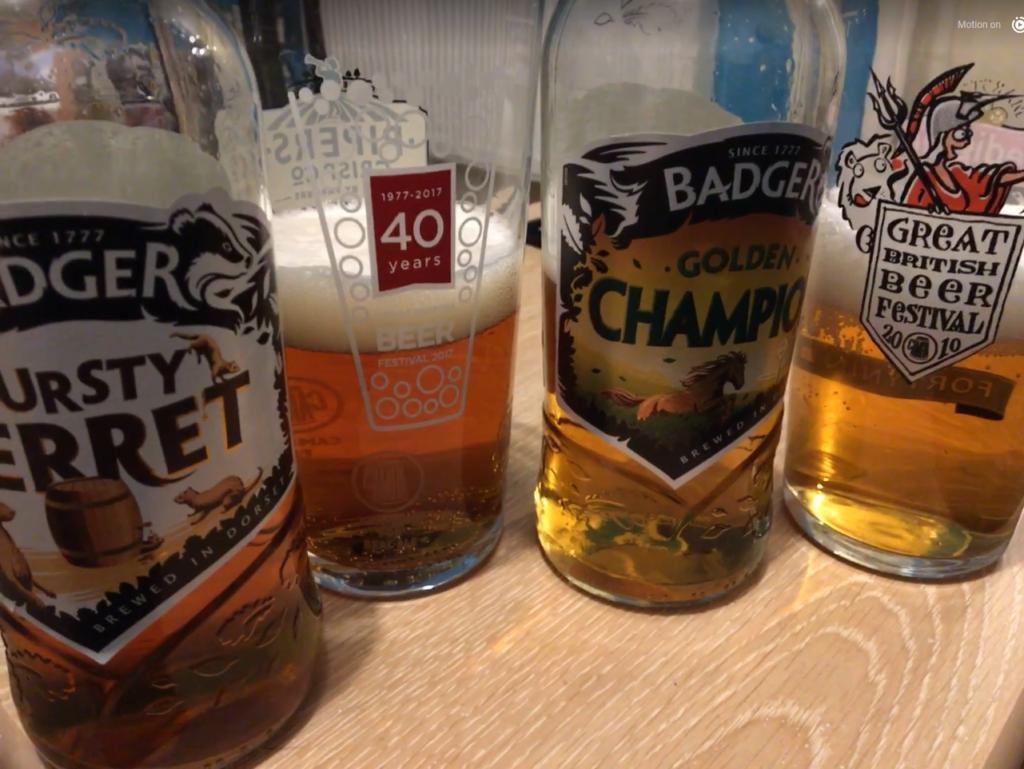 badger beer & perfect warm-ups