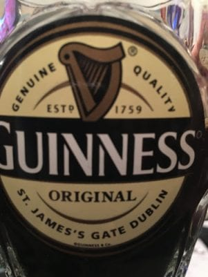How much alcohol in Guinness