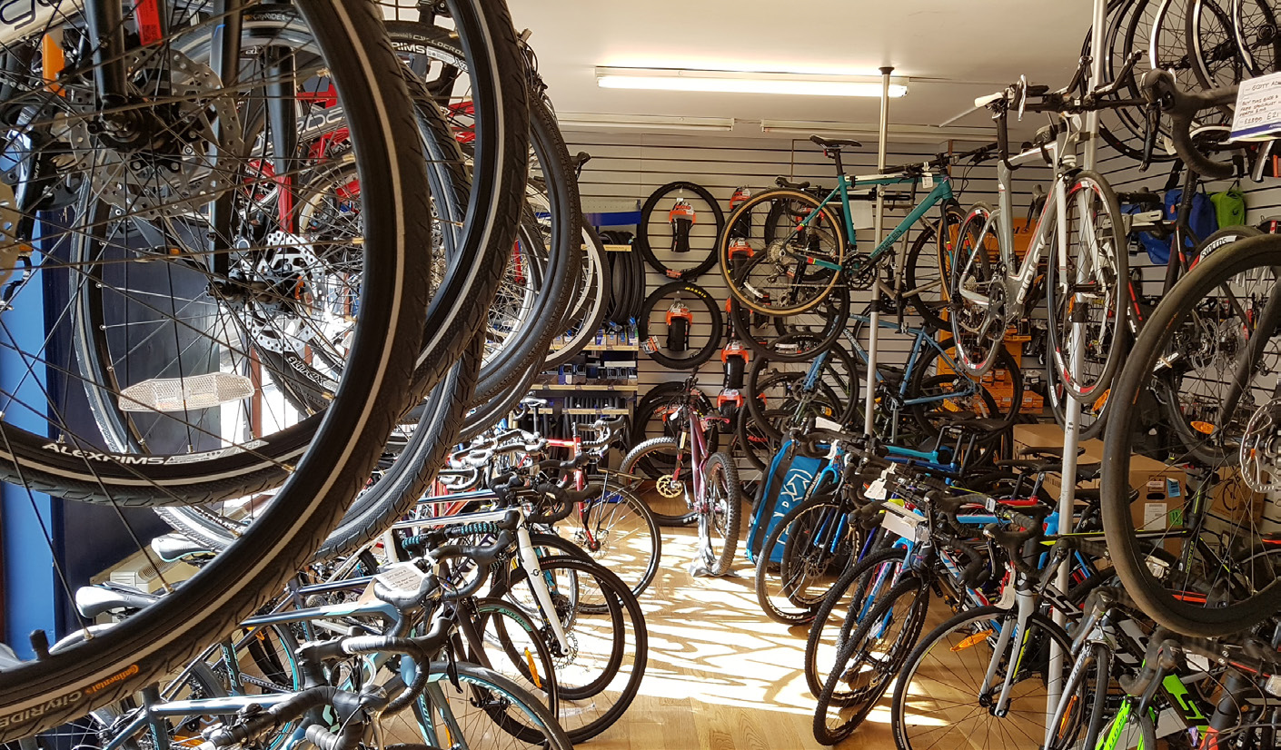 Arragon's Cycle Centre products, bikes, Penrith, Cumbria, bira member, British Independent Retailers Association