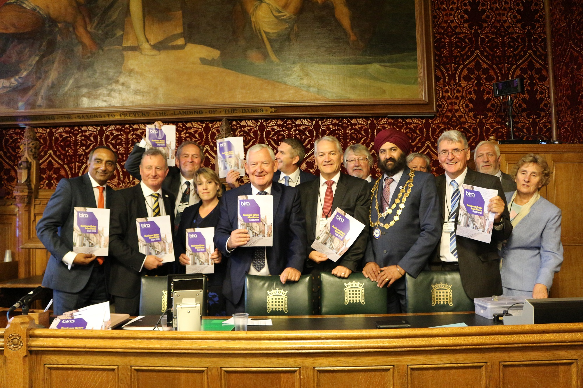 British Independent Retailers Association at the Houses of Parliament