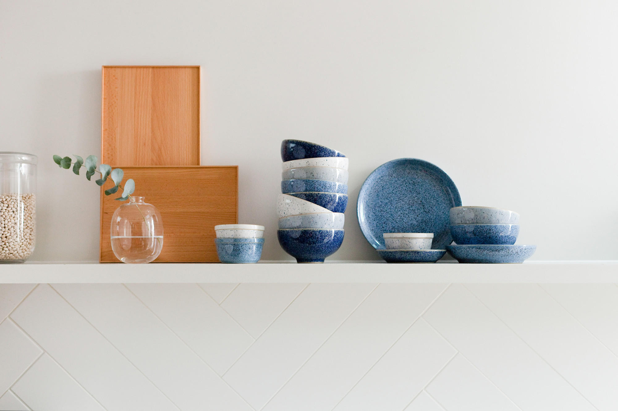 Denby pottery sustainable kitchenware.