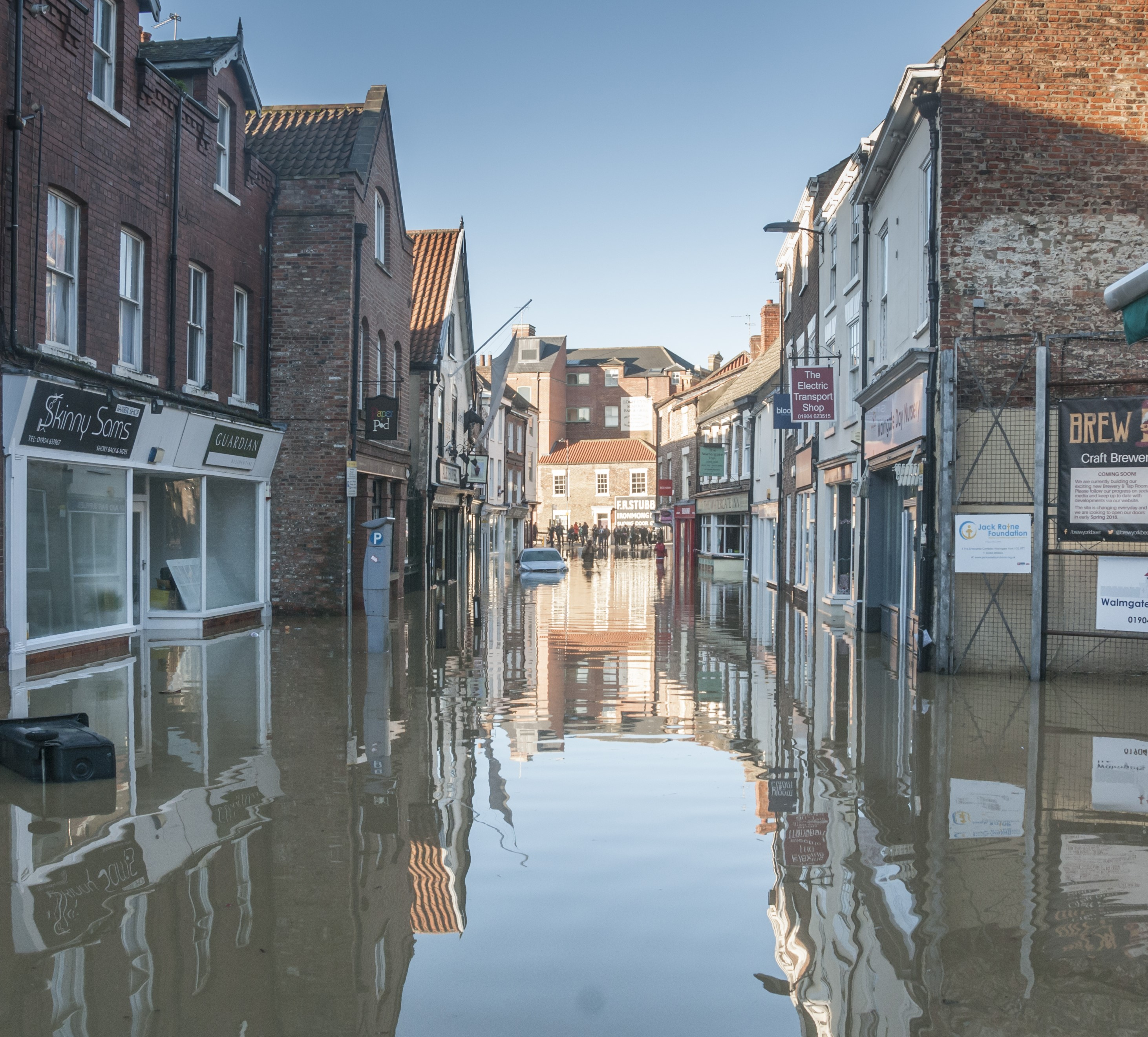 Flood protection for your shop
