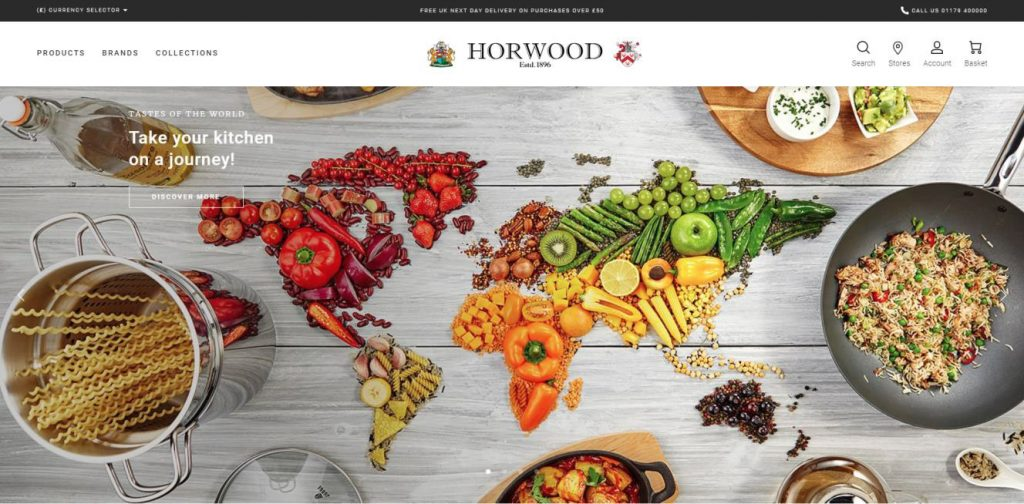 Horwood new website